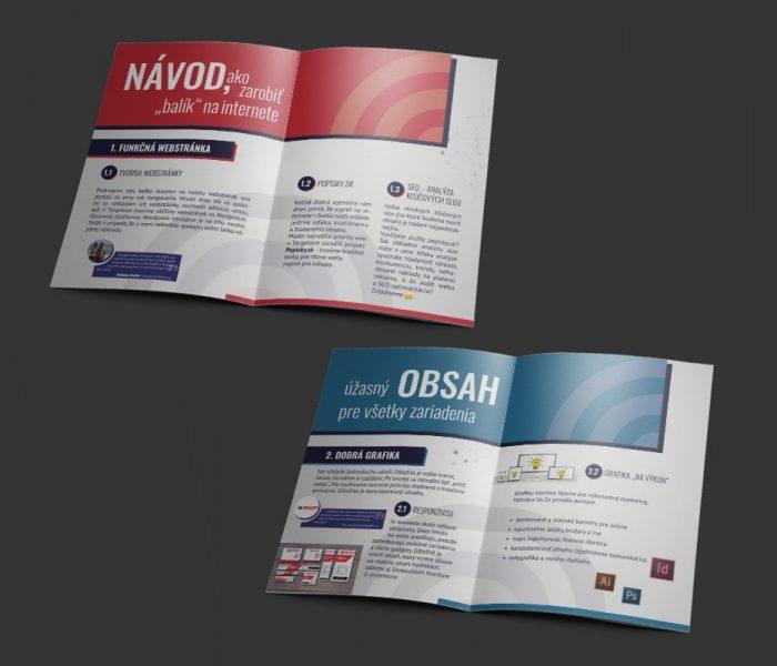 Portfólio - Print - Brožúra - Targetovo