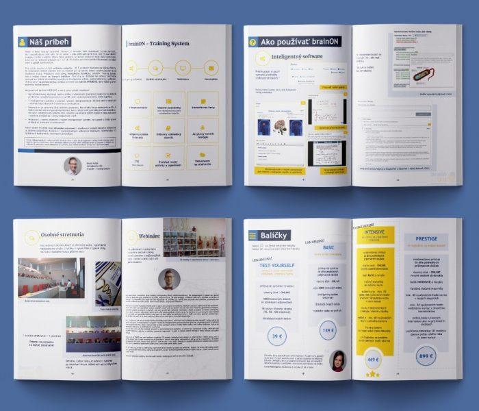Portfólio - Print - Brožúra - BrainON
